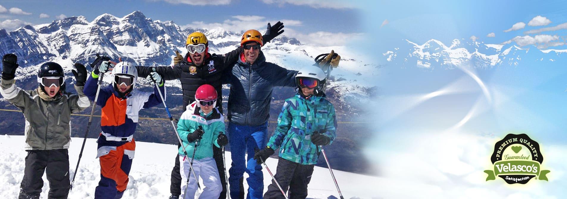 Esquí en familia en Panticosa