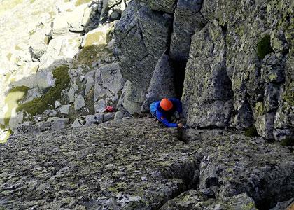 escalada deportiva vías ferratas