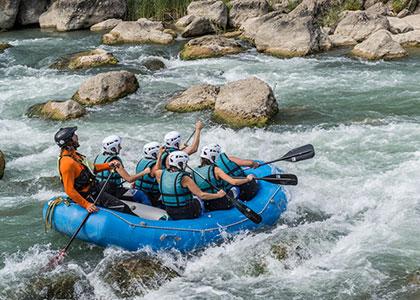 Rafting y actividades aventura Pirineos