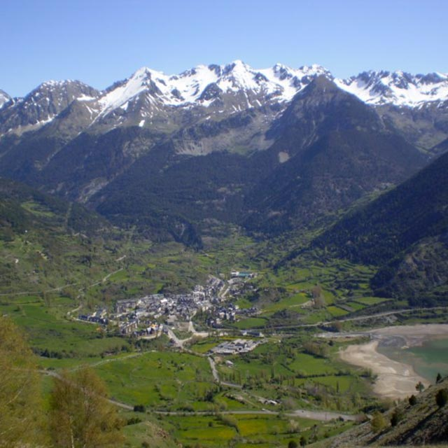 Biescas entrada Valle de Tena