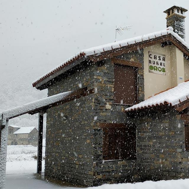 Casa rural en Orós Alto en Valle de Tena