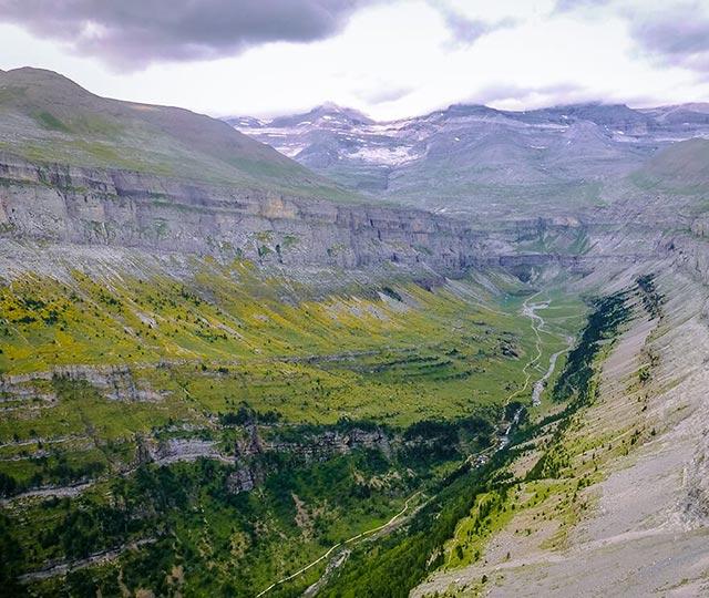 Miradores Ordesa Pirineo aragonés