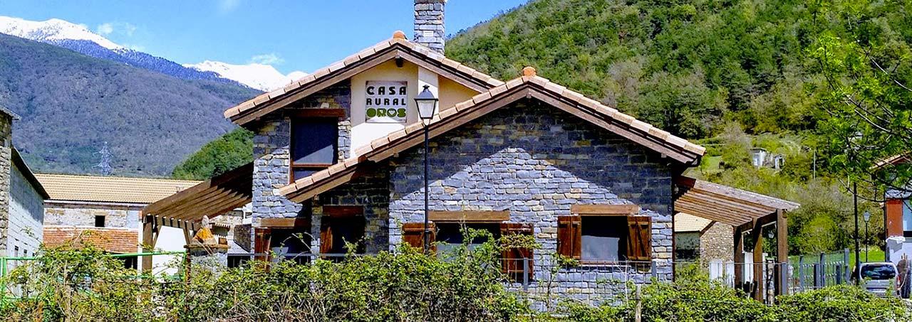 Casa rural en Pirineo aragonés